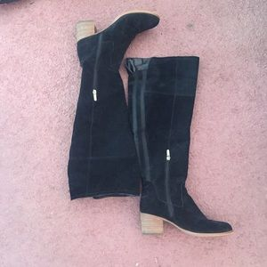 Marc Fisher Suede Over Knee Boot